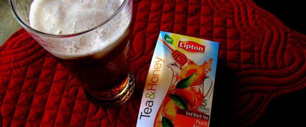 Family Tea Time with Lipton Tea & Honey
