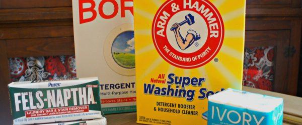 Allergy Friendly Homemade Laundry Detergent