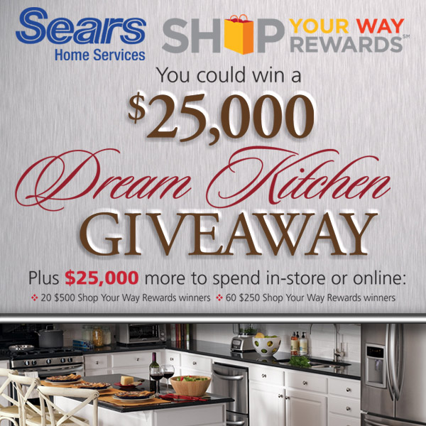 Kitchen Makeover Contest: Enter The Sears Kitchen Makeover Sweepstakes