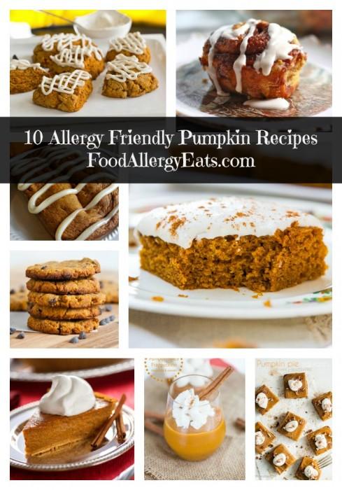 10 Allergy Free Pumpkin Recipes