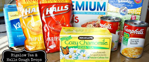 Get Ready for Cold and Flu Season with Bigelow Tea & Halls Cough Drops #AmericasTea #shop