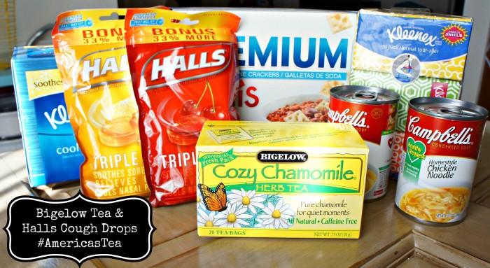 Bigelow Tea & Halls Cough Drops #AmericasTea #cbias #shop