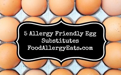 5 Allergy Friendly Egg Substitutes