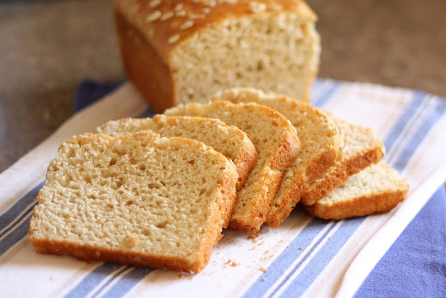 Honey and Oat Gluten Free Bread