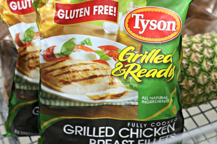 #ad Tyson Grilled & Ready Chicken #CookItGF #shop