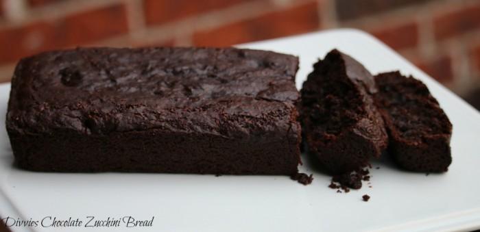 Divvies Chocolate Zucchini Bread #glutenfree #vegan