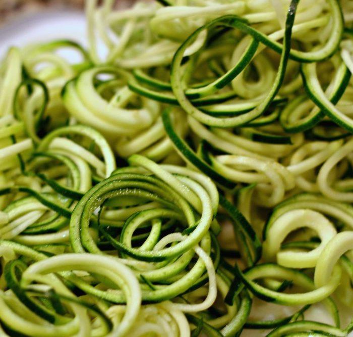 Easy Zucchini Pasta #glutenfree #vegan