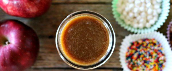 Dairy Free Homemade Caramel Sauce