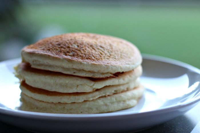 Allergy Friendly Cake Batter Pancakes