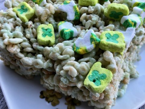 Allergy Friendly Rice Krispie Treats